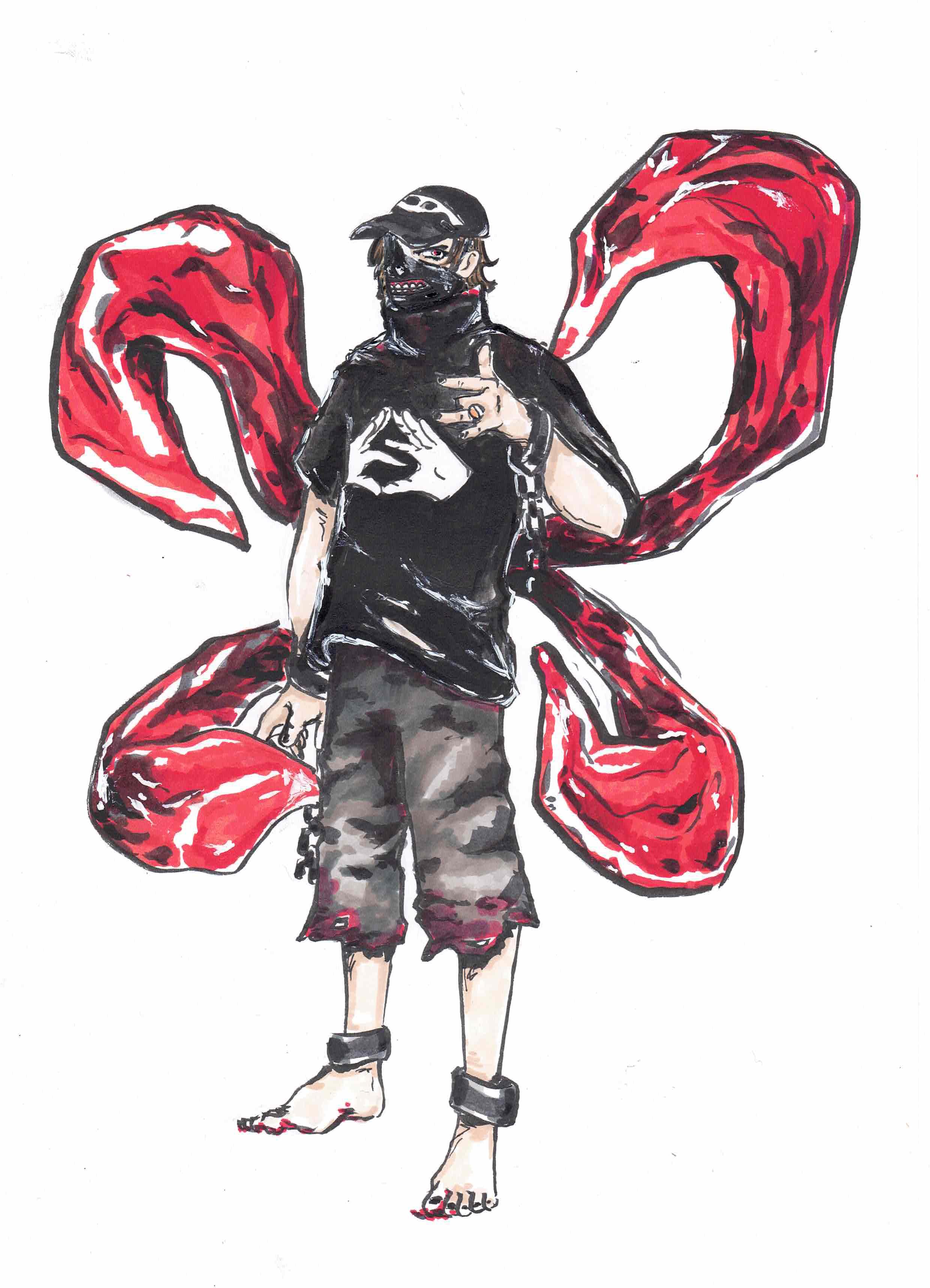 Nekfeu, comme un shōnen